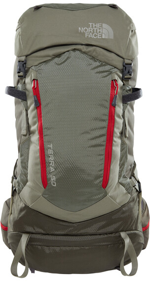 The North Face Terra 50 rugzak olijf